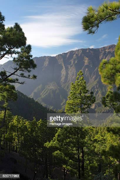 Parque Nacional de la Caldera de Taburiente La Palma Canary Islands Spain 2009