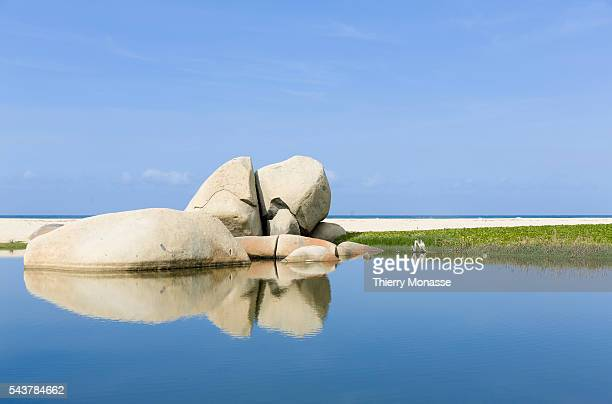 Parque Nacional Natural Tayrona Magdalena State Colombia August 19 2015 Tayrona National Natural Park is a protected area in the Colombian northern...