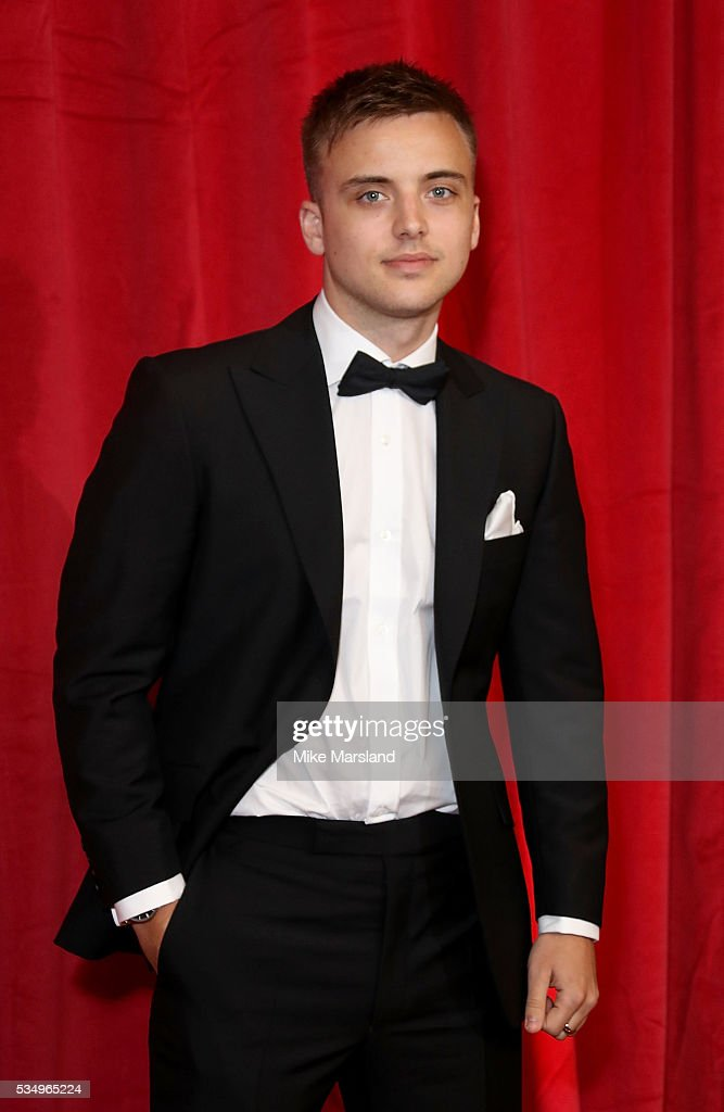 Parry Glasspool attends the British Soap Awards 2016 at Hackney Empire on May 28, 2016 in London, England.