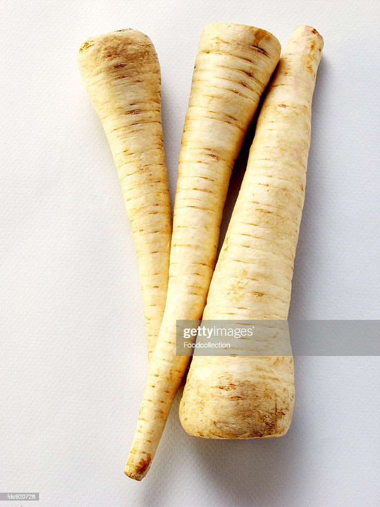 Parsley roots : Stock Photo