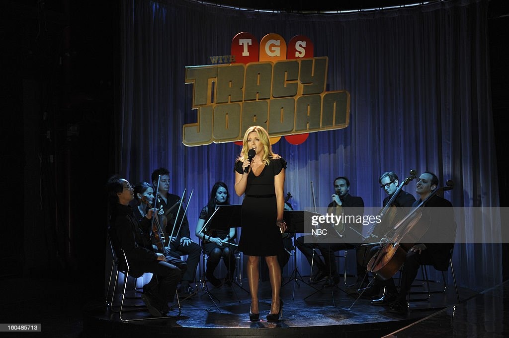 30 ROCK -- 'Part 1: Hogcock! Part 2: Last Lunch' Episode 712/713 -- Pictured: Jane Krakowski as Jenna Maroney --