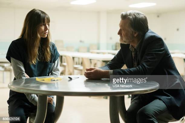 THE SINNER 'Part III' Episode 103 Pictured Jessica Biel as Cora Tannetti Bill Pullman as Detective Harry Ambrose