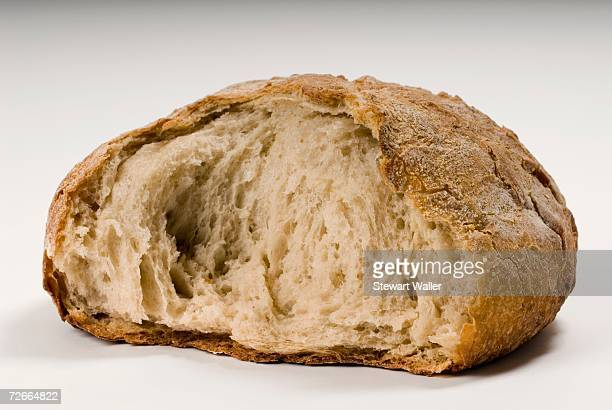 Part of a loaf of bread