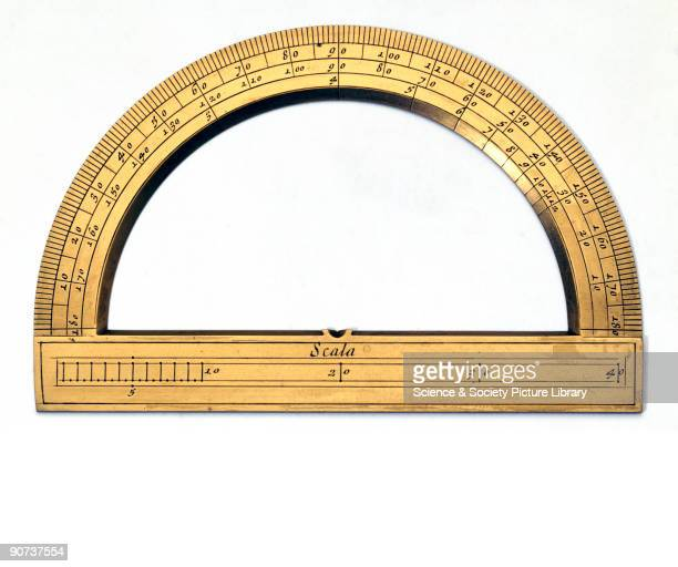 Part of a set of mathematical instruments made by D Lusuerg of Rome Sets of drawing instruments were often made to order for wealthy clients and were...