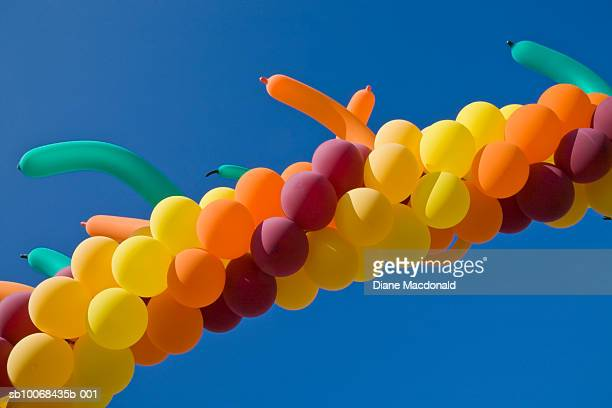 Part of archway of balloons