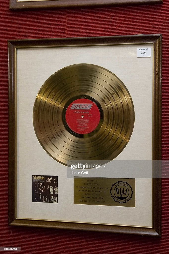 Part Of David Gest'S Entertainment Collection Prior To It'S Auction At Bonhams In Knightsbridge, London.The Collection Includes The Beatles: Yellow Submarine (3000-5000 Pounds), Help! (4000-6000 Pounds) And Penny Lane (3000-5000 Pounds). The Rolling Stones: (I Can'T Get No) Satisfaction Presented To The Late Brian Jones (10000-15000 Pounds). The Doors: Light My Fire (8000-10000 Pounds) And Hello, I Love You (6,000-8,000 Pounds) Both Jim Morrison'S Personal Copies.