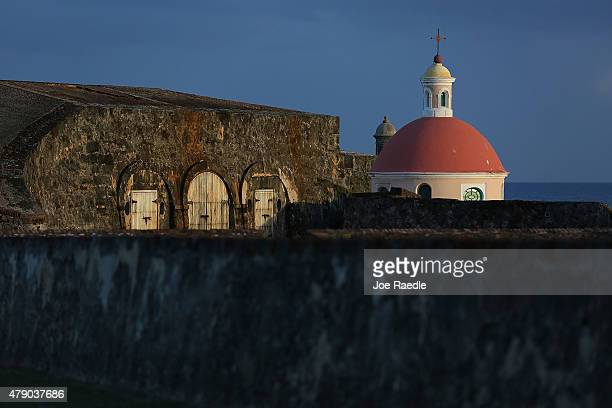 Part of Fort San Felipe del Morro is seen a day after Puerto Rican Governor Alejandro Garcia Padilla gave a speech regarding the government's $72...