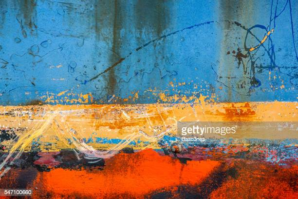 Part of shipboard - Natural and abstract