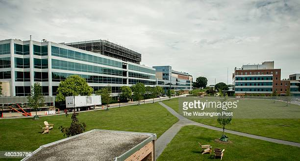 Part of the campus of The Johns Hopkins University Applied Physics Laboratory in Laurel Md on Wednesday July 8 2015