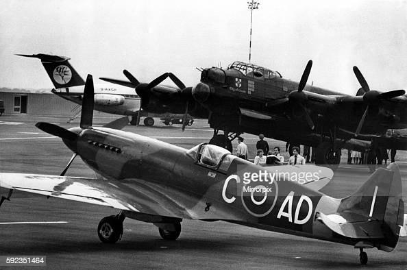 Part of the Lancaster crew to arrive from RAF Coningsby was RAF master engineer Derek Butcher of Jackson Avenue Ponteland The aircraft were to take...