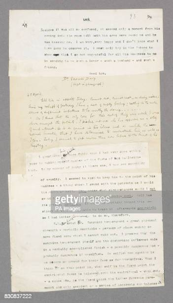 Part of the original manuscript of horror classic Dracula Bram Stoker's manuscript is expected to fetch 11 million when it goes under the hammer next...