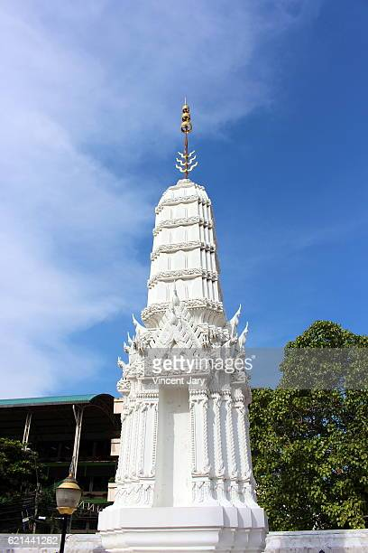 Part of Wat Inharawihan temple Bangkok Thailand