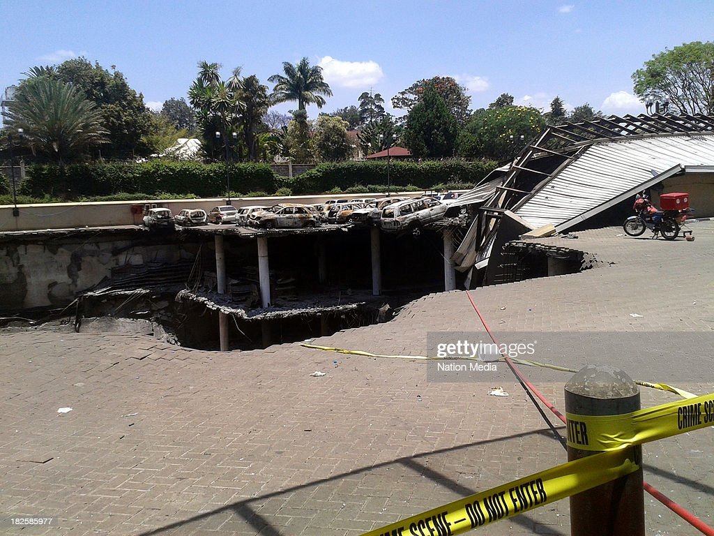 Not for sale to The Star Capital FM The People Citizen TV Kenya Broadcasting Corporation Part of Westgate mall that caved during military operation...