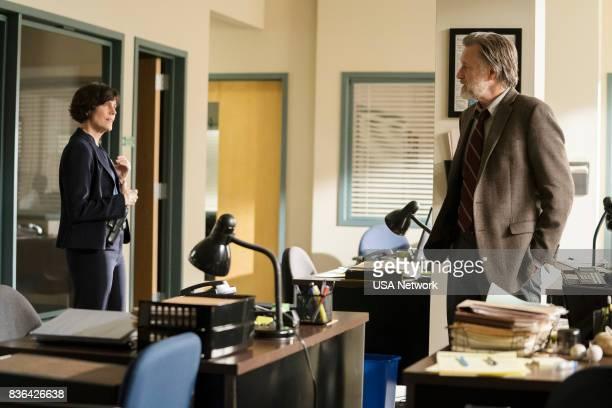 THE SINNER 'Part V' Episode 105 Pictured Joanna Adler as Detective Farmer Bill Pullman as Detective Harry Ambrose