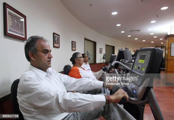 Partha Ghosh at Cardiac Rehabilitation Centre at Asian Heart Hospital BKC