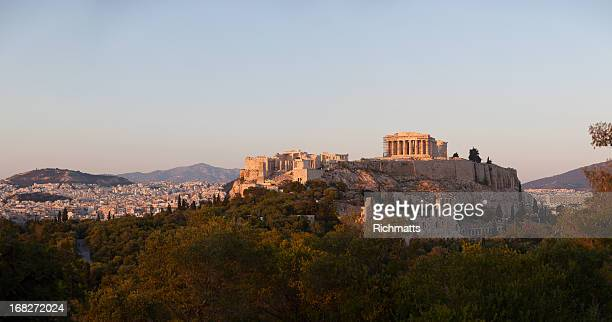 Parthenon at Acropolis Hill in Athens