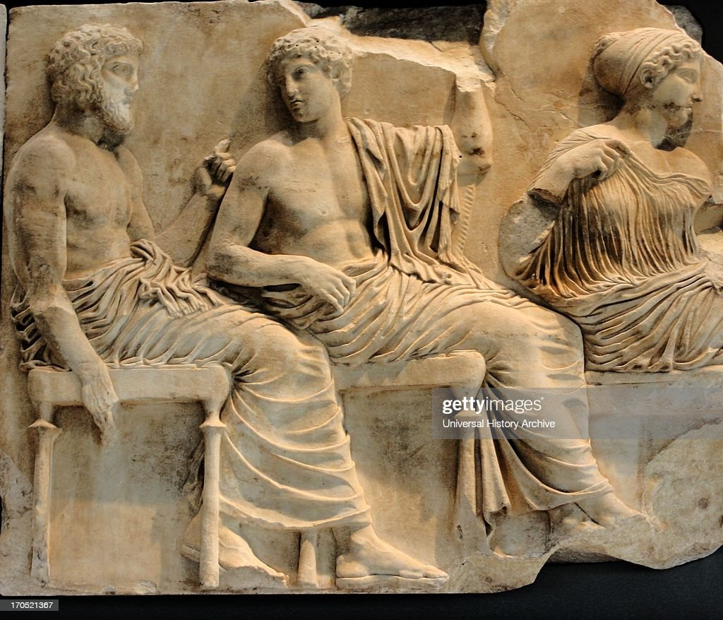 parthenon frieze depicting gods and goddesses pictures getty images