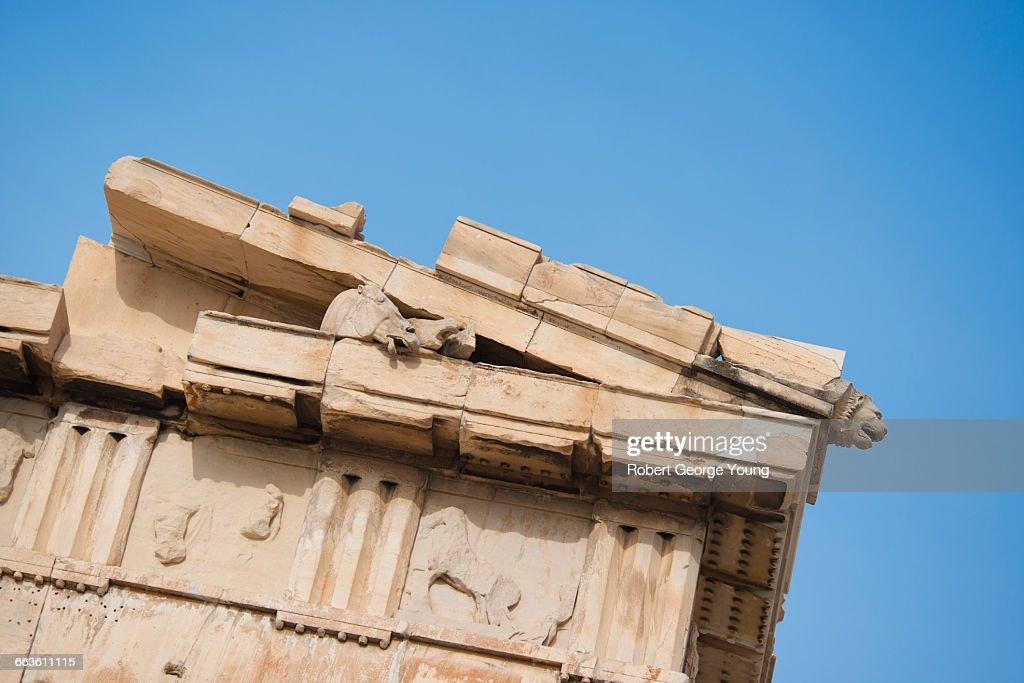 Parthenon, Horse Head, Triglyph, Frieze, Acropolis