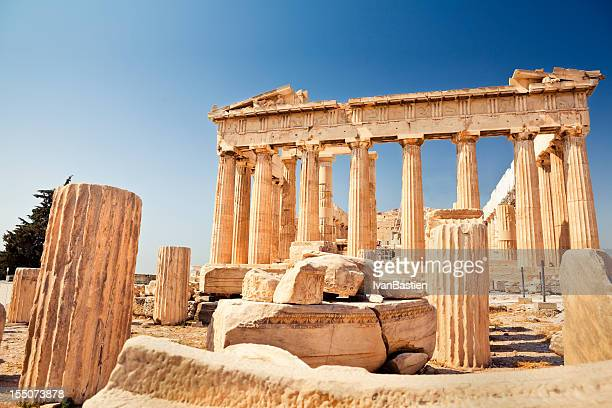 Parthenon on the Akropolis in Athens