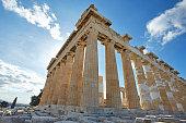 Parthenonas in Akropolis, Athens,Greece