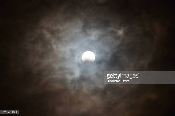 Partial Lunar Eclipse visible on August 7 2017 in Bareilly India The lunar eclipse will start at around 1052 pm on the night of August 7 and will...