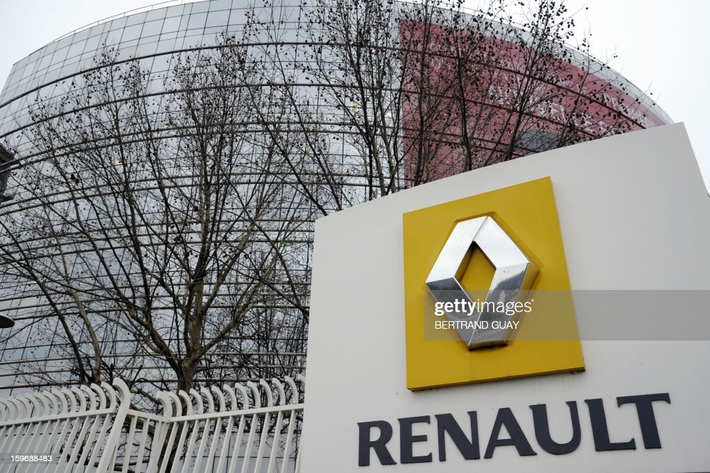 Partial view of French car maker Renault headquarters in Boulogne-Billancourt, west of Paris taken on January 18, 2013. AFP PHOTO / BERTRAND GUAY / AFP / BERTRAND GUAY