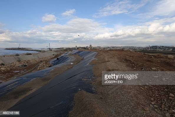 A partial view of Sidon's garbage dump after it received an ecomakeover on November 28 2014 Lebanon's southern city of Sidon is best known for its...