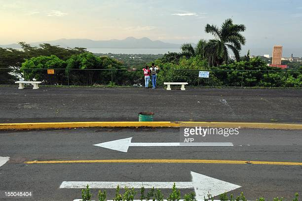Partial view of the city of Managua picture taken from Loma de Tiscapa National Historical Park on October 23 2012 AFP PHOTO / Hector RETAMAL / AFP...
