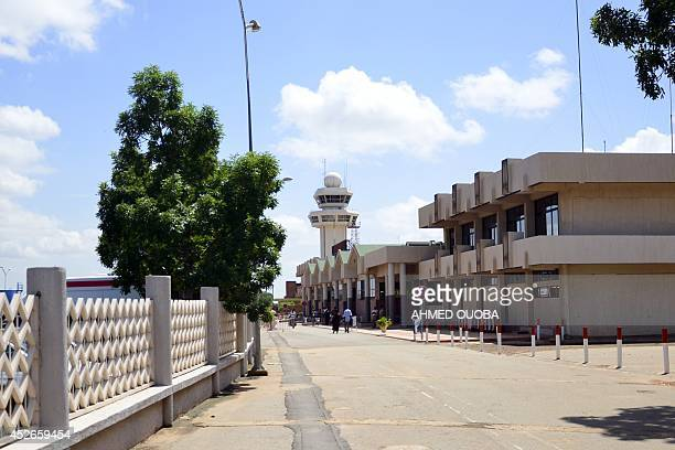 A partial view taken on July 25 2014 shows Ouagadougou's airport Burkina Faso France announced on July 25 there were no survivors among the 118...
