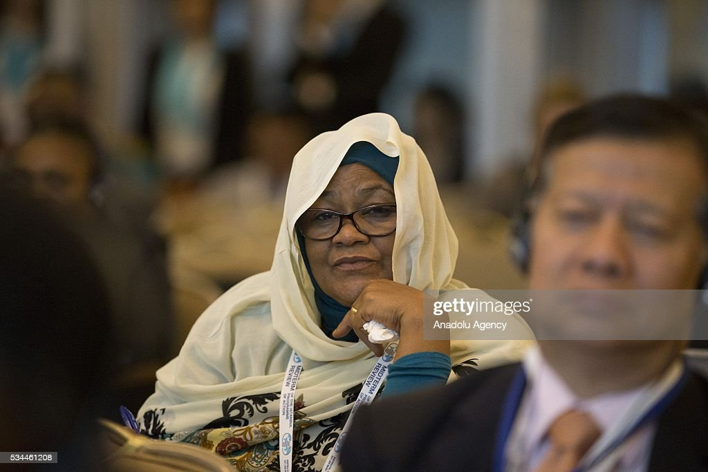A participant is seen during a conference within the Midterm Review of the Istanbul Programme of Action at the Titanic Hotel in Antalya, Turkey on May 26, 2016. The Midterm Review conference for the Istanbul Programme of Action for the Least Developed Countries will take place in Antalya, Turkey from 27-29 May 2016. The conference will undertake a comprehensive review of the implementation of the Istanbul Programme of Action by the least developed countries (LDCs) and their development partners and likewise reaffirm the global commitment to address the special needs of the LDCs.