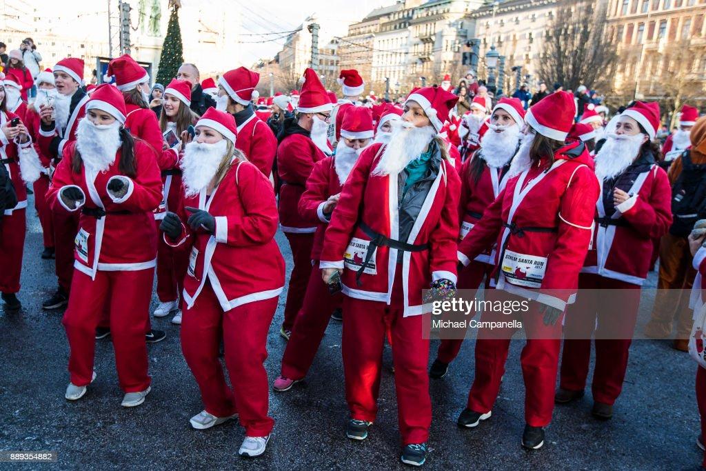 Stockholm Santa Run