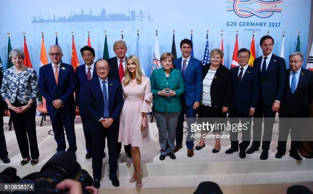 Participants of the ''Launch Event Women's Entrepreneur Finance Initiative' among them the daughter of the US President Ivanka Trump and World Bank...