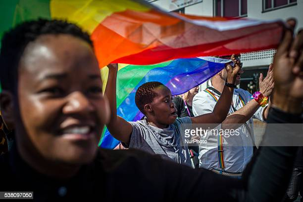 Participants of the Swakopmund Gay Pride walks on the main street of the city June 4 Namibia People from all over the country met for the first time...