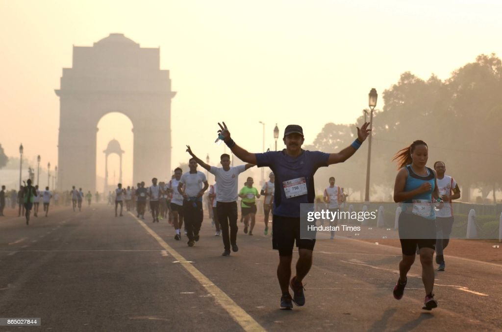 Border Security Force Organizes Run For Martyrs