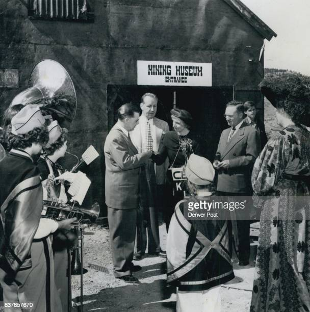 JUL 3 1949 participate at ceremonies in front of the mining museum at Central City The Gilpin county school band played at the ceremonies Credit The...