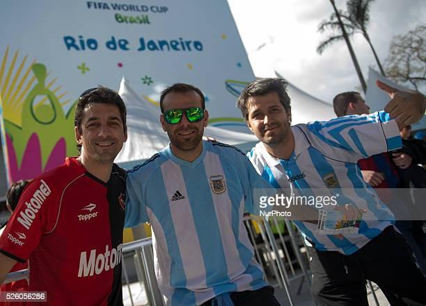 Partido de la final del Mundial de Brasil Alemania Argentina