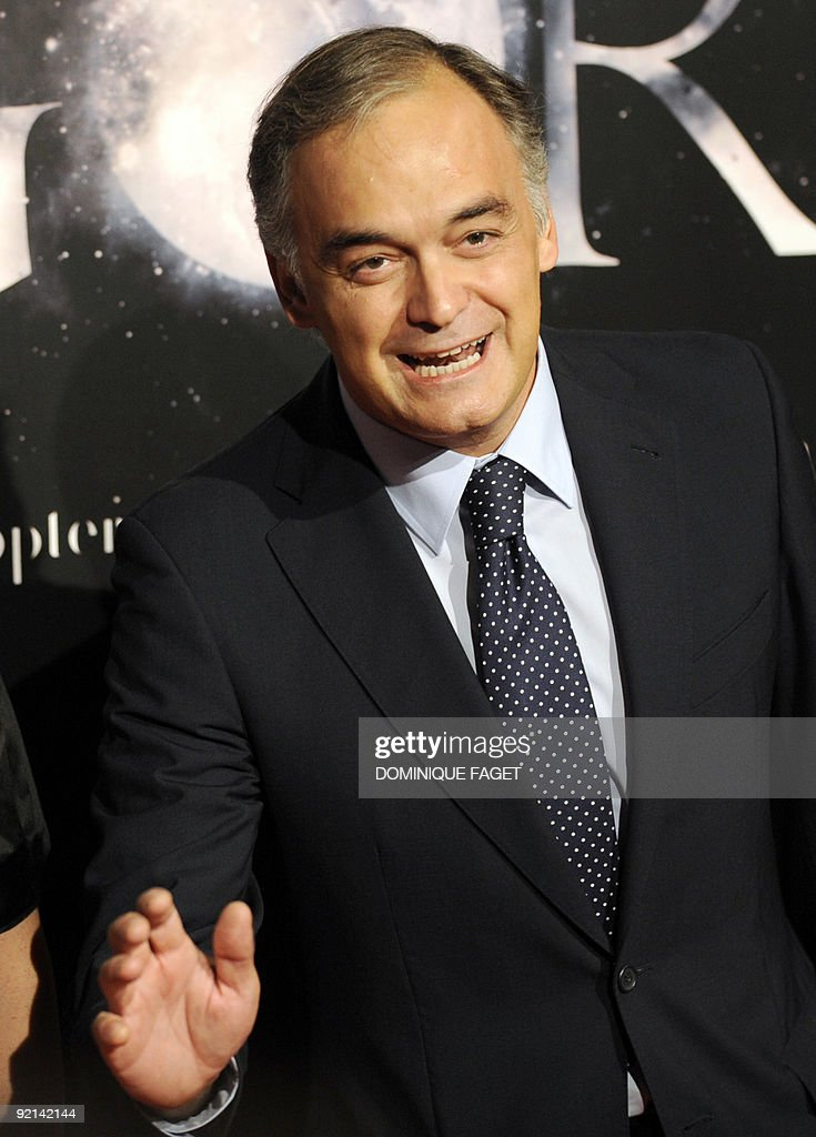 Partido Popular deputy Comunication secretary Esteban Gonzalez Pons arrives for the film premiere of Spanish film director Alejandro Amenabar's new...