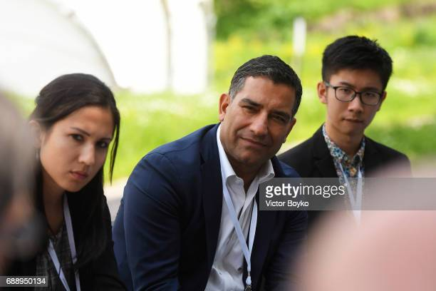 Partner Global Talent EY Chair One Degree Academy Riaz Shah during the Galvanizing the World Break Out Sessions at the Aurora Dialogues a series of...