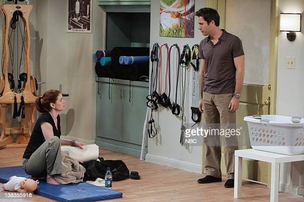 WILL GRACE 'Partners 'N' Crime' Episode 21 Pictured Debra Messing as Grace Adler Eric McCormack as Will Truman