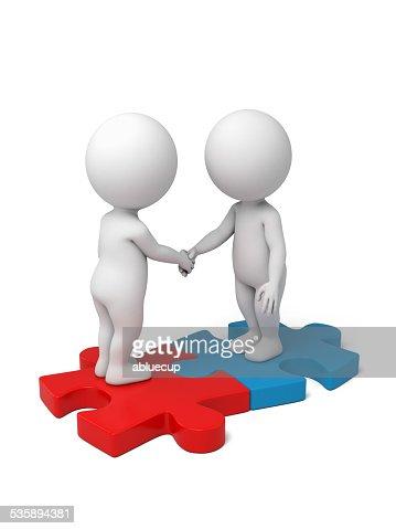 partnership : Stock Photo