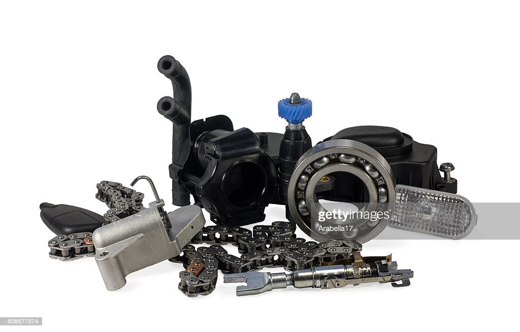 Parts for cars. : Stock Photo