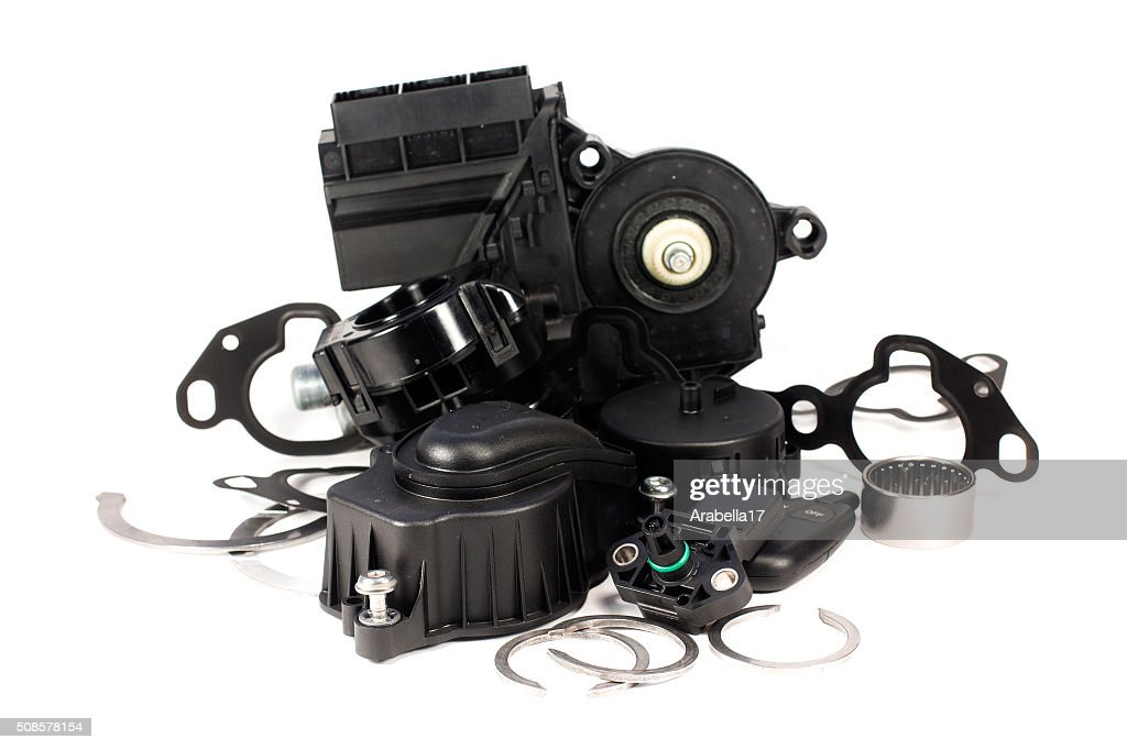 Parts for cars. : Stockfoto