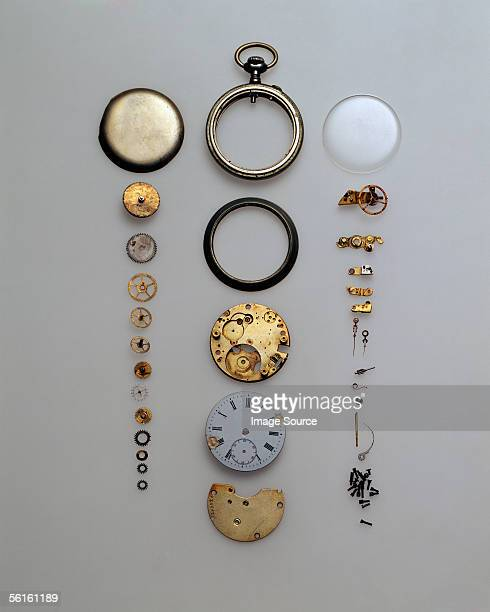 Parts of a pocket watch