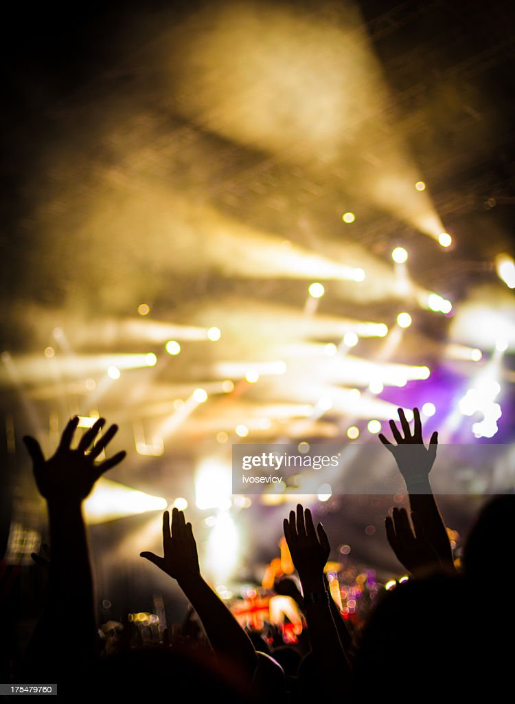 Party Atmosphere : Stock Photo