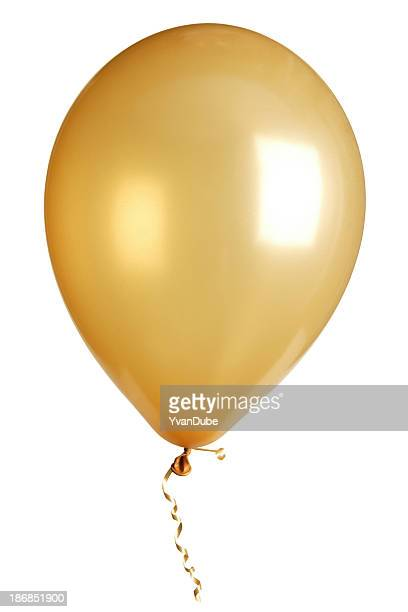 party balloon isolated on white