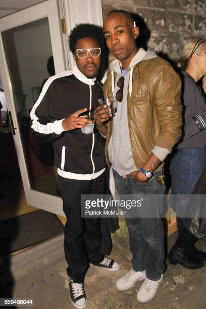 Party Boy Dre and Digo Dope Boy attend INA MEN Opening Party at Ina Men on September 29 2009 in New York City
