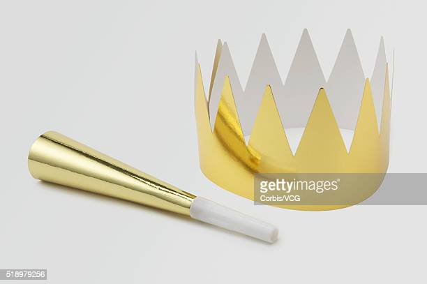 Party Crown and Noisemaker