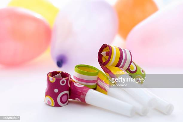 Party Decoration With Balloons and Streamers
