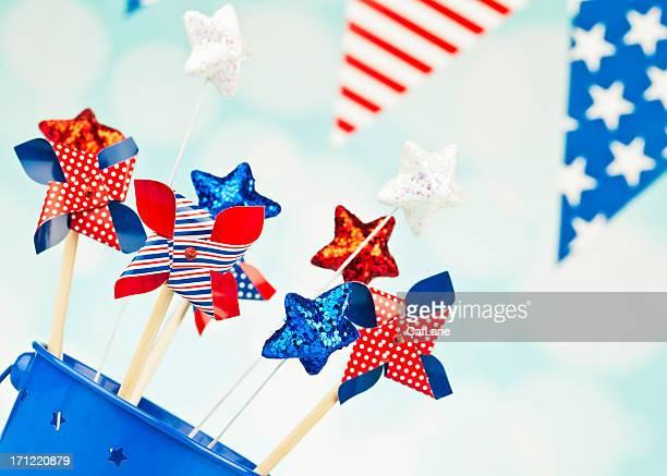 Des décorations de fête pour le 4 juillet