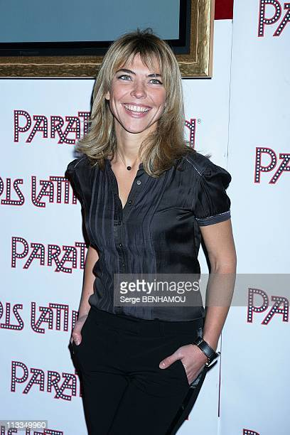 Party For The New Revue Of Latin Paradise In Paris France On November 24 2008 Nathalie Vincent